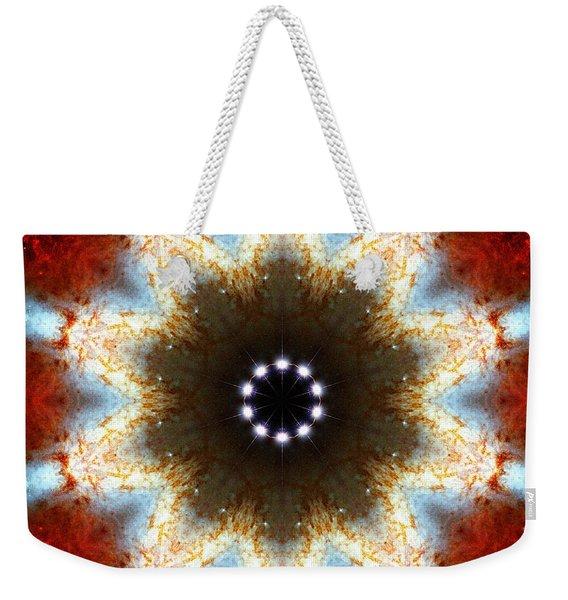 Starburst Galaxy M82 I Weekender Tote Bag
