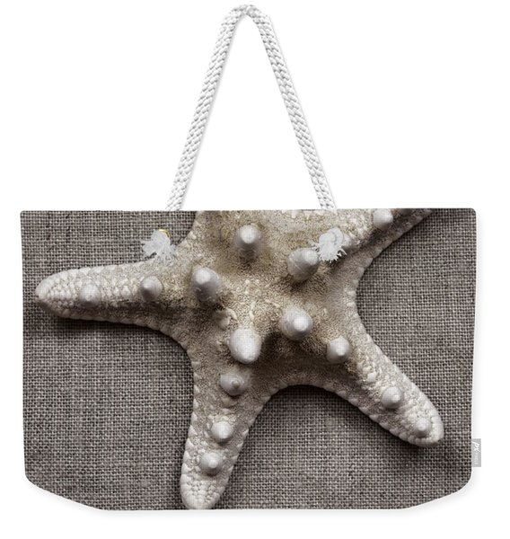Starfish And Sticks Weekender Tote Bag