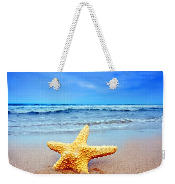 Starfish On A Beach   Weekender Tote Bag