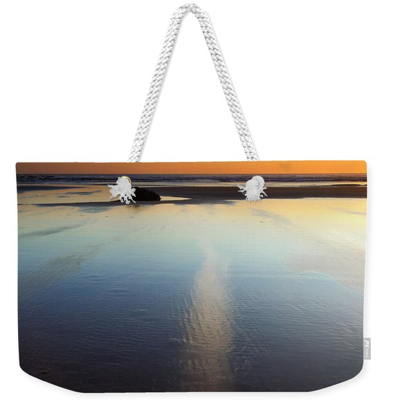 Starfish Sunset Weekender Tote Bag
