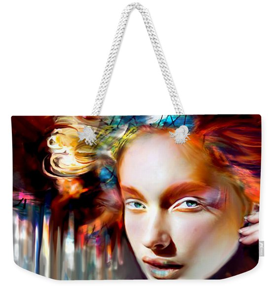 Stargirl I Bleed Color Weekender Tote Bag
