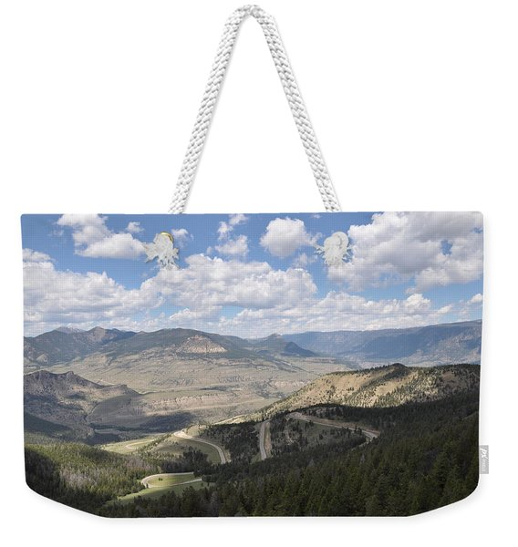 Starlight Basin Weekender Tote Bag
