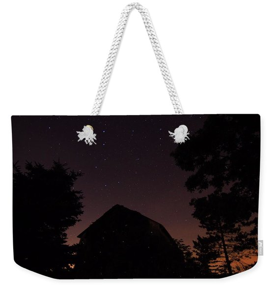 Stars And Lightning Bugs On The Farm Weekender Tote Bag