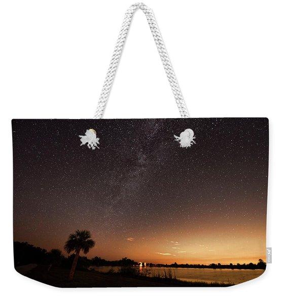 Stars In Big Cypress National Preserve Weekender Tote Bag
