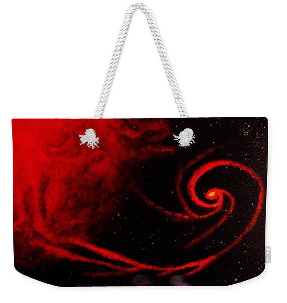 Stars Locked In Immortal Embrace Weekender Tote Bag