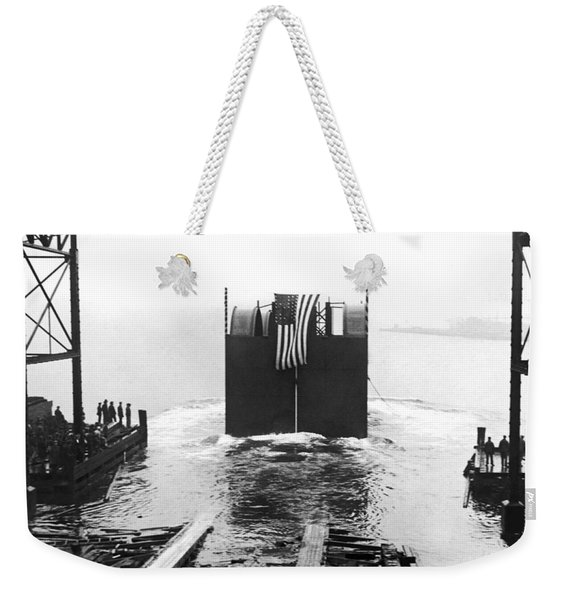 Start Of The Holland Tunnel Weekender Tote Bag