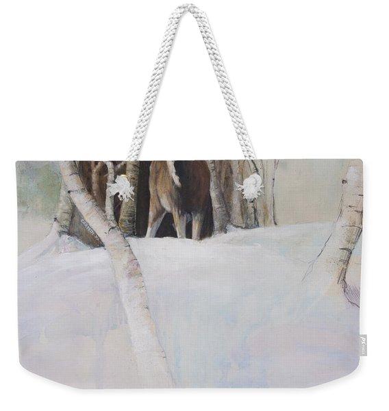 Startled Morning Weekender Tote Bag