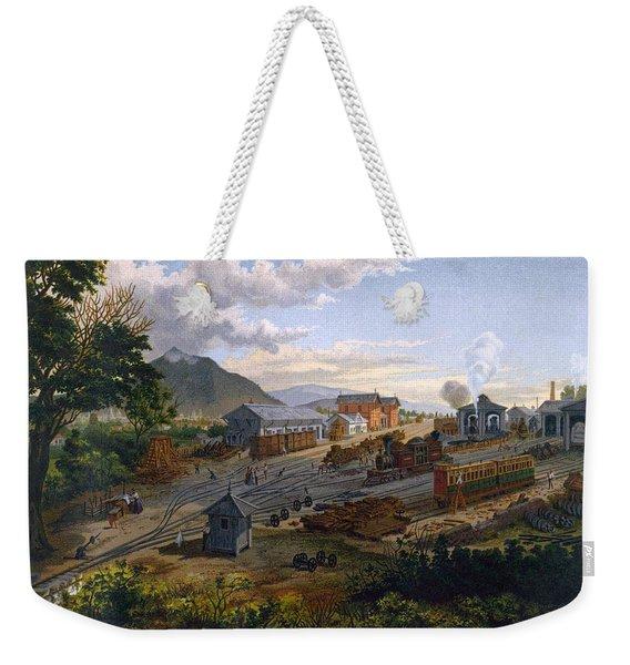 Station At Orizaba, 1878 Weekender Tote Bag
