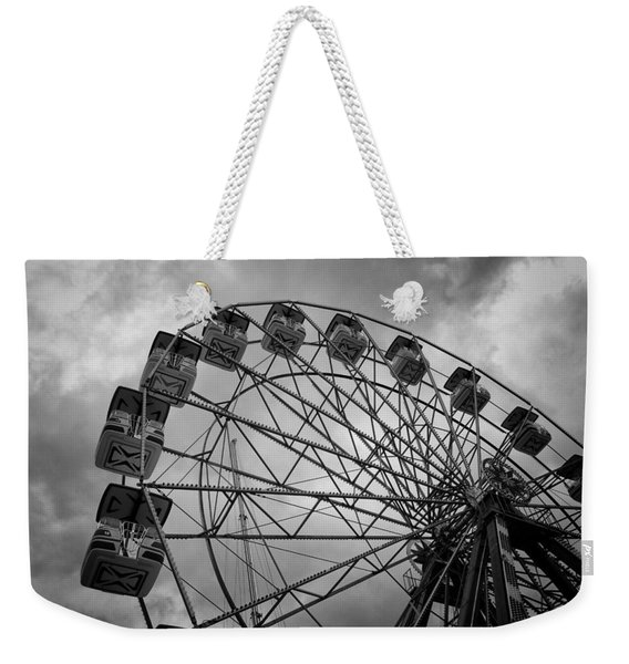 Stationary In The Morning Weekender Tote Bag