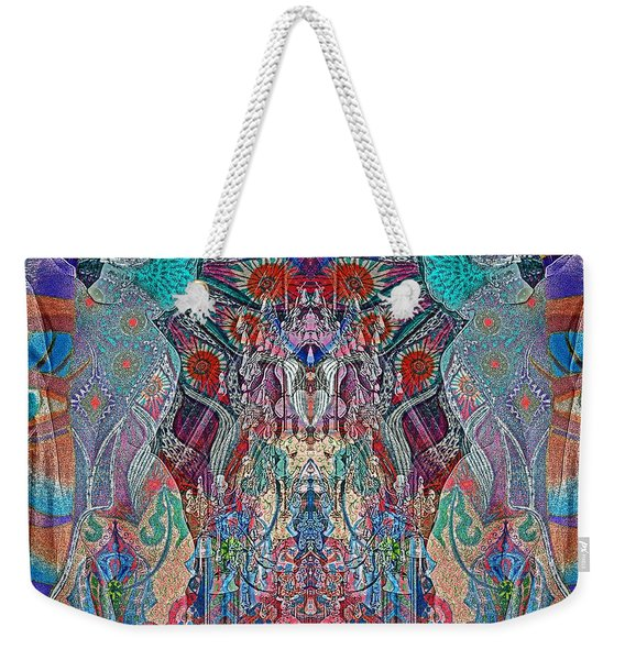 Mirrored Statues  Weekender Tote Bag