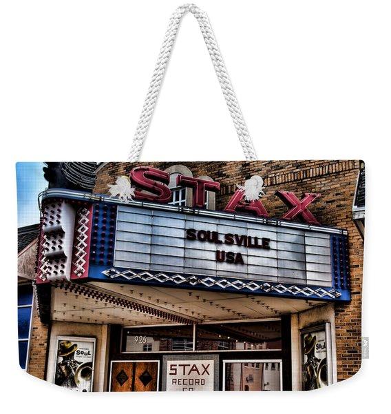 Stax Records Weekender Tote Bag
