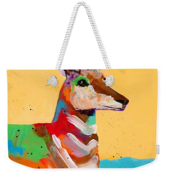 Stay On Alert Weekender Tote Bag