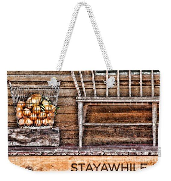 Stayawhile Weekender Tote Bag