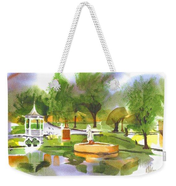 Ste Marie Du Lac In Watercolor II Weekender Tote Bag