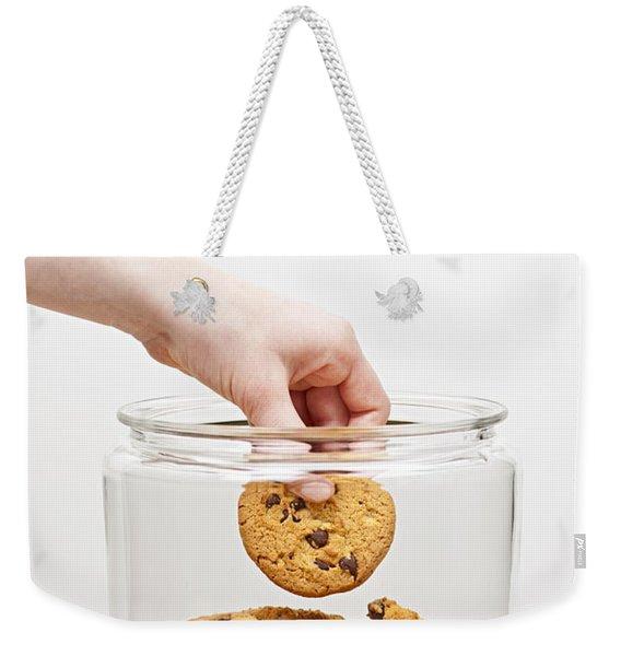 Stealing Cookies From The Cookie Jar Weekender Tote Bag