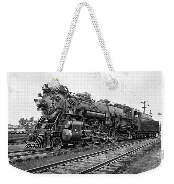 Steam Locomotive Crescent Limited C. 1927 Weekender Tote Bag