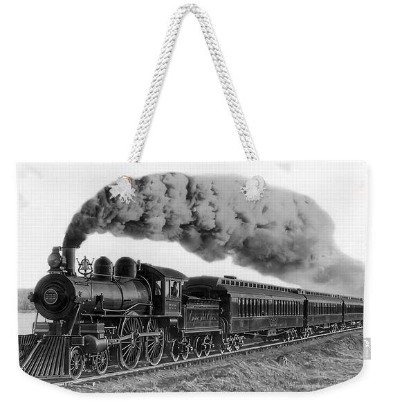 Steam Locomotive No. 999 - C. 1893 Weekender Tote Bag