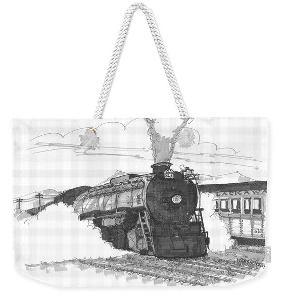 Steam Town Scranton Locomotive Weekender Tote Bag