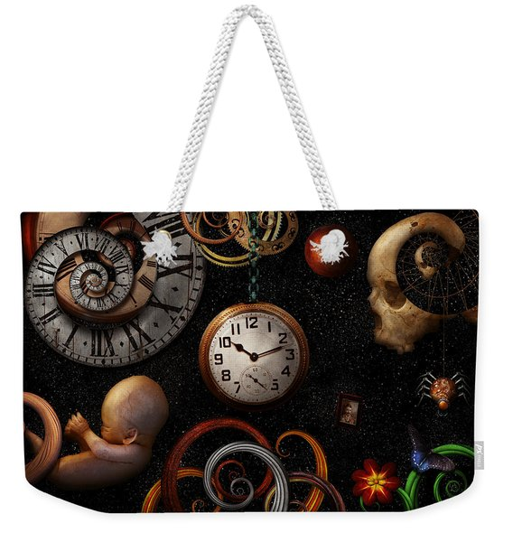 Steampunk - Abstract - The Beginning And End Weekender Tote Bag