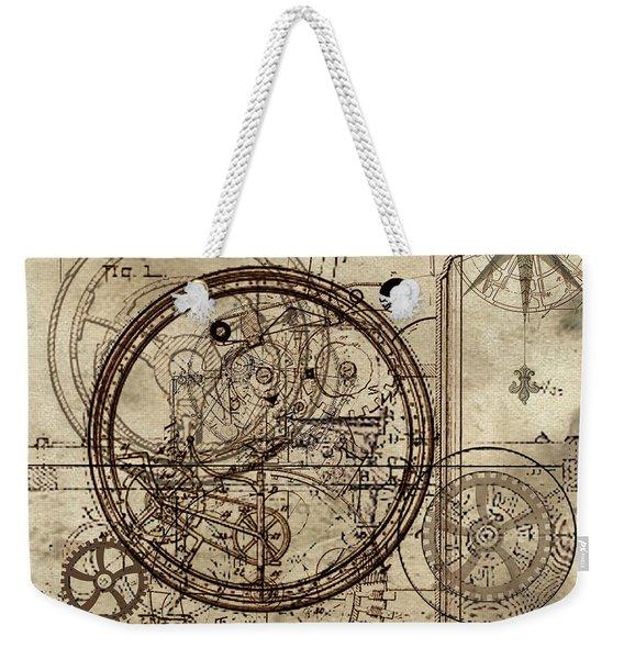 Steampunk Dream Series IIi Weekender Tote Bag