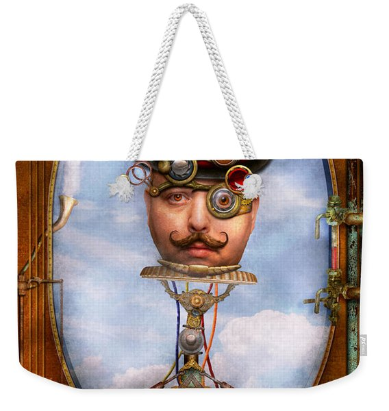 Steampunk - Integrated Weekender Tote Bag
