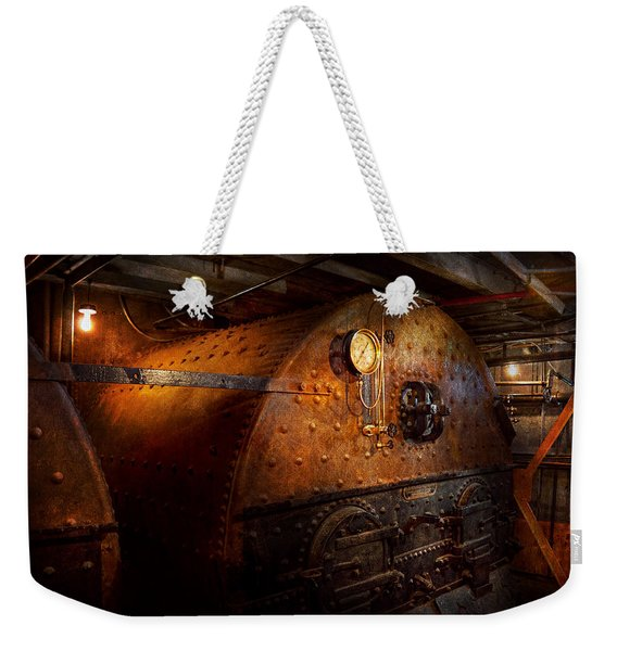Steampunk - Plumbing - The Home Of A Stoker  Weekender Tote Bag