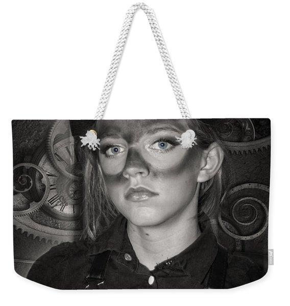 Steampunk Princess Weekender Tote Bag