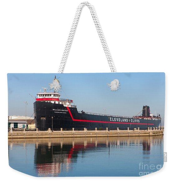 Steamship William G. Mather II Weekender Tote Bag