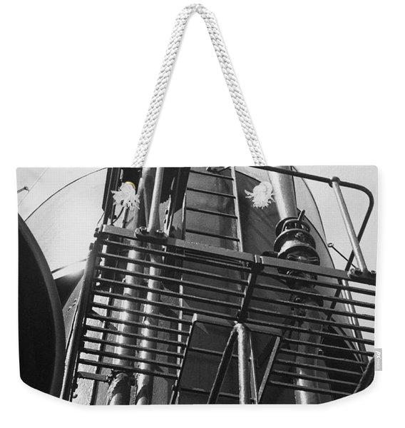 Steamship's Smoke Stack Weekender Tote Bag