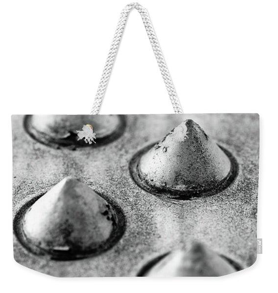 Steel Kisses Weekender Tote Bag