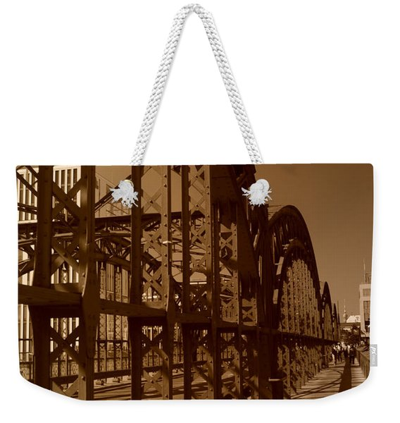Steel Shadows Weekender Tote Bag