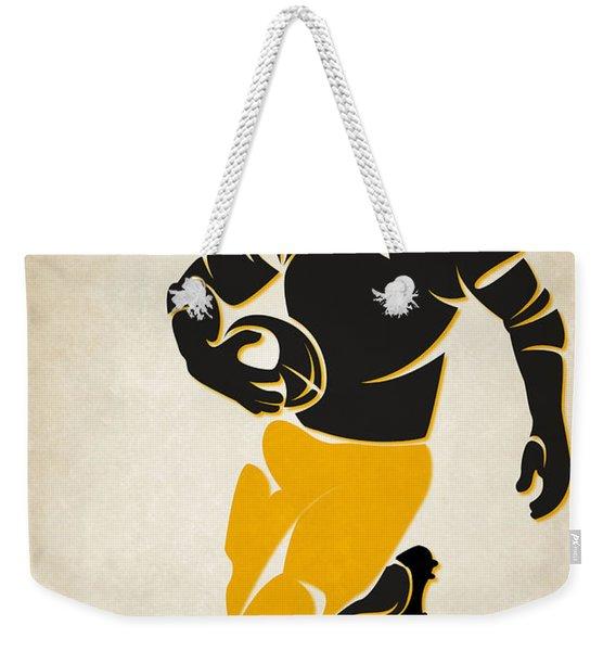 Steelers Shadow Player Weekender Tote Bag