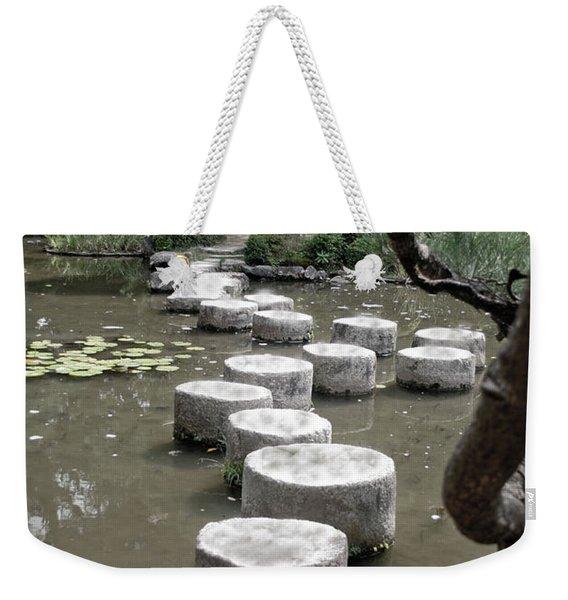 Stepping Stone Kyoto Japan Weekender Tote Bag