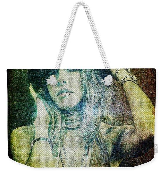 Stevie Nicks - Bohemian Weekender Tote Bag