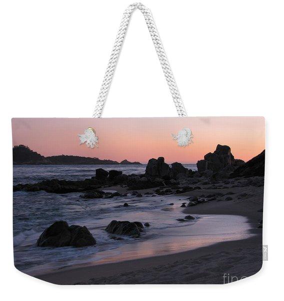 Stewart's Cove At Sunset Weekender Tote Bag