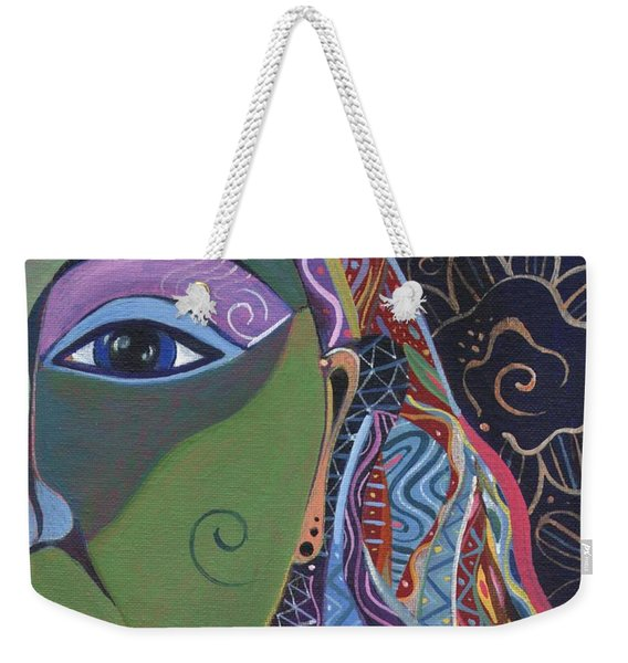 Still A Mystery 5 Weekender Tote Bag
