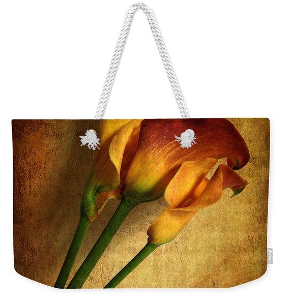 Still Life Calla Weekender Tote Bag