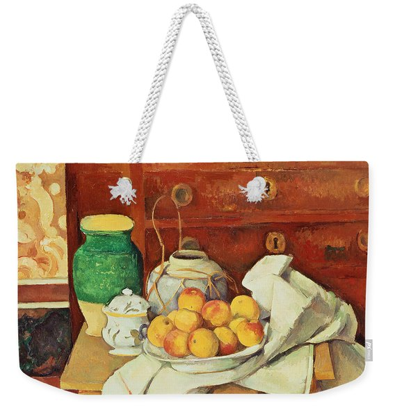 Still Life With A Chest Of Drawers Weekender Tote Bag