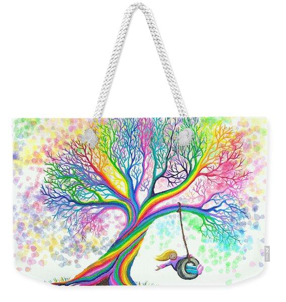 Still More Rainbow Tree Dreams Weekender Tote Bag