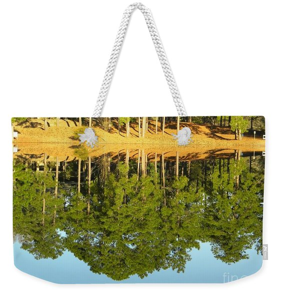 Still Reflections Weekender Tote Bag