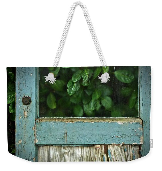 Weekender Tote Bag featuring the photograph Still Standing by Patricia Strand