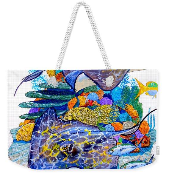 Stingray Play Weekender Tote Bag