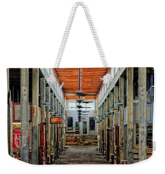 Stockyard Mall Weekender Tote Bag