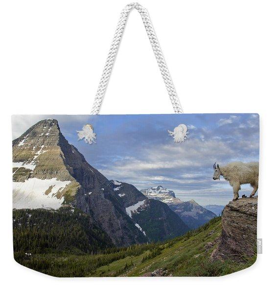 Stoic Mountain Goat Weekender Tote Bag