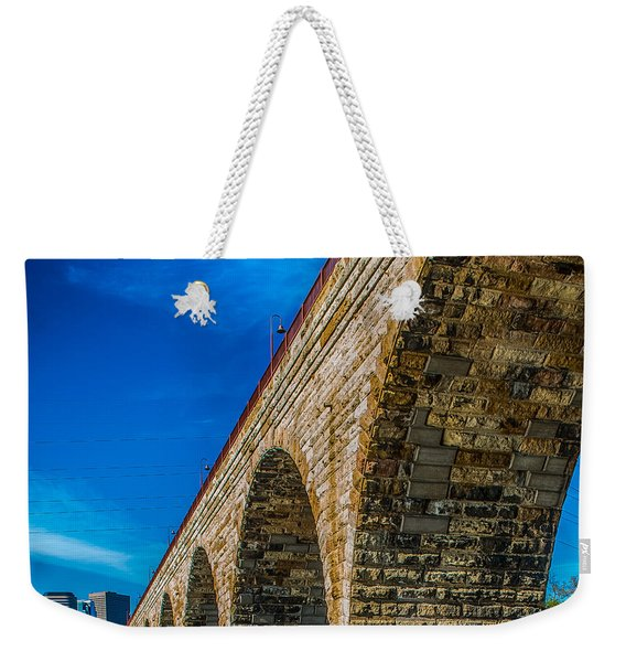 Stone Arch Bridge By Paul Freidlund Weekender Tote Bag