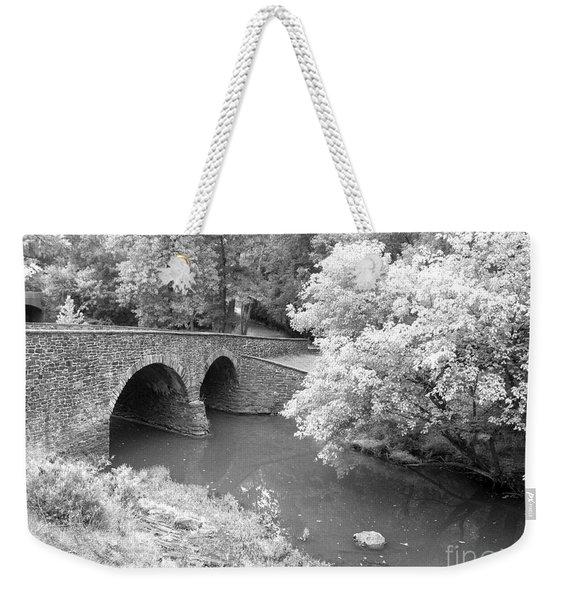 Stone Bridge - Manassas Weekender Tote Bag
