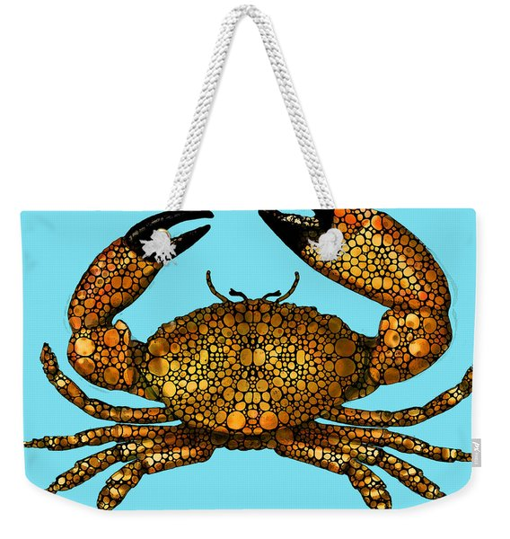 Stone Rock'd Stone Crab By Sharon Cummings Weekender Tote Bag