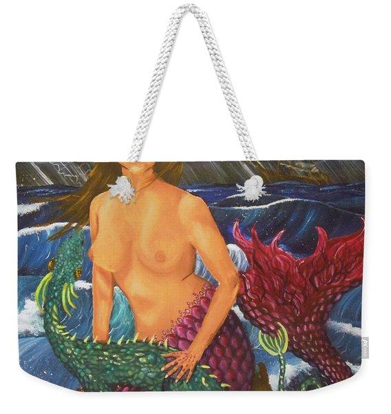Storm And Peace Weekender Tote Bag