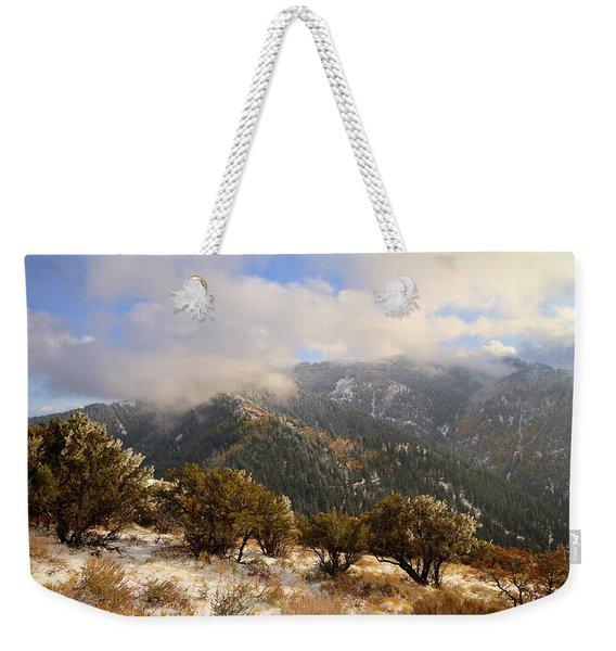 Storm Atop Oquirrhs Weekender Tote Bag