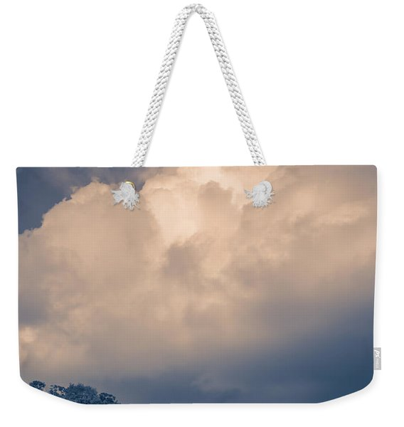 Storm Coming To The Old Farm Weekender Tote Bag